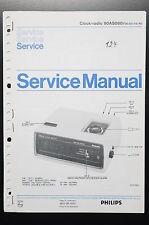 PHILIPS CLOCK-RADIO 90as080 ORIGINAL MANUEL DE SERVICE/manuelle/AMPLIFICATEUR !