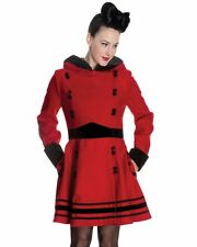 Hell Bunny Patternless Formal Coats & Jackets for Women
