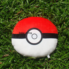 "Poke Ball Pillow Pokemon Go Plush Toy Game Cuddly Soft Stuffed Cushion Doll 15"""