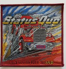 Status Quo Status Quo End Of The Road woven Patch