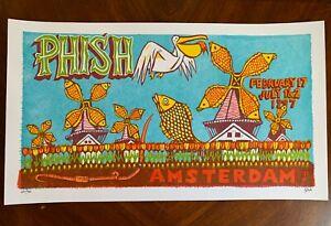 Phish Jim Pollock Print - Amsterdam 1997