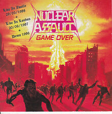 NUCLEAR ASSAULT-CD-Live 1987/1988 + Demo Anthrax Testament Mortal sin  Sodom