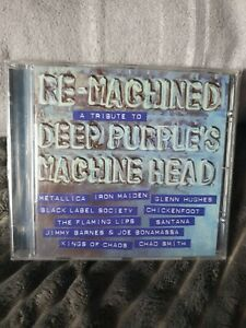 Various Artists - Re-Machined - A Tribute To Deep Purple's machine head CD AMVG