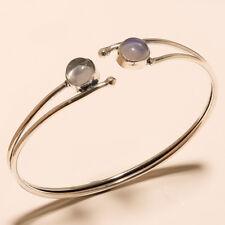 Fire Opal Lavish Cuff Bangel Silver Plated Gemstone Fashion jewelry