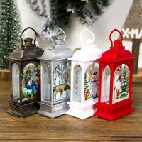 Christmas Decorations Light Ornaments Craft Xmas Home Decor Hanging Pendant US