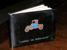 FM858_CARNET DE BORD-AUTO Libretto nuovo - Vintage