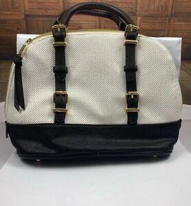 Naturalizer- Handbag Top Handle Black And White