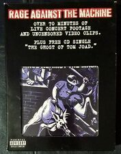 Rage Against the Machine (VHS, 1997, Includes Free CD Single)