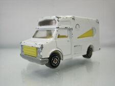 Diecast Majorette Fourgon Ice Cream Car No.259 White Good Condition