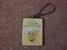 Tintin Herge Corner Keyring - Crab with the Golden Claws.