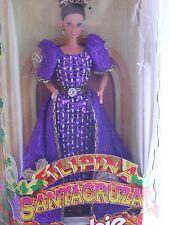 Philippine Barbie Santacruzan Reyna Fe Filipina in Purple Dress (Limited Edition