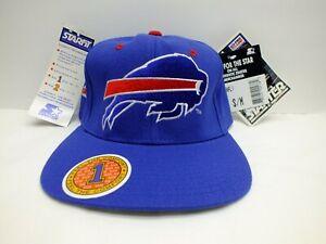 BUFFALO BILLS NFL 90'S VTG STARTER HAT STRETCH FLEX FIT SIZE S/M (6 5/8 - 7 1/8)