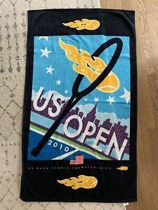 us open tennis towel 2010