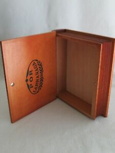 Vintage Look Wood Storage Faux Book Box/Cigar Box