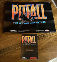 Pitfall The Mayan Adventure SNES Poster & Manual Only