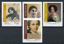 Italy 2018 MNH Famous Women Ada Negri Eva Mameli Calvino 4v S/A People Stamps