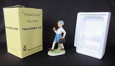 Norman Rockwell 'Teacher's Pet' by Dave Grossman 1979 Figurine In Original Box