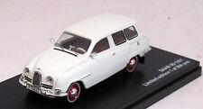 Modell 1:43 Saab 95 1961 weiss   Triple9- 43067