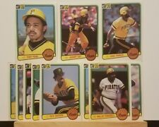 Pre-owned ~ 1983 Donruss Pittsburgh Pirates Baseball Cards (Stargell, Parker