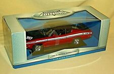 PLYMOUTH BARRACUDA 383 1969 YAT MING COLLECTORS EDITION RED BLACK WHITE 92179*