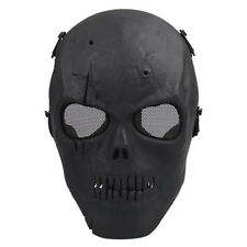 Skull Skeleton Airsoft Paintball BB Gun Full Face Protect Mask