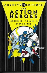 Action Heroes Archives volume 2 (DC) Captain Atom, Blue Beetle Charlton NEW
