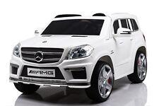 Auto Macchina Elettrica per Bambini Licenza Mercedes-Benz GL63 AMG 2 motori 12V
