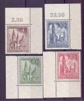 Berlin 1953 - MiNr. 106/109 postfrisch** Eckrand - Michel 25,00 € (519)