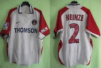 Maillot PSG Paris saint Germain Thomson PSG Heinze #2 jersey Nike Vintage - M