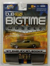 NOS NIP NEW Jada Toys Dub City Bigtime Muscle 1967 Shelby GT-500KR 1:64