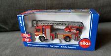Siku 1841 Mercedes Benz Fire Ladder L32 Red Scale 1:87 New !°