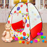 Foldable Kid Baby Children Ocean Ball Pit Pool Indoor Play Tent House Toy Gift