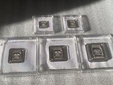 Geiger Edelmetalle Silver Assay Set 50g, 1oz, 20g, 10g, 5g