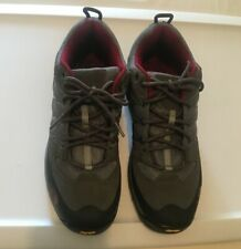 New The North Face Men's Storm Graphite Grey /Biking Hiking Red Shoe size 10 New