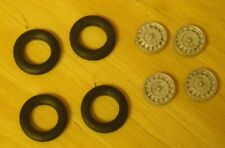 """1/43rd scale  disc wheels suitable for cars with 20"""" wheels  by K&R Replicas"""