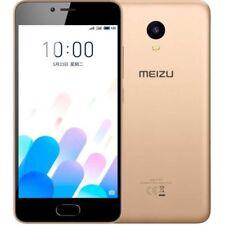 Teléfonos móviles libres de oro 2 GB con anuncio de conjunto