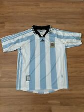 Adidas Argentina National Team 1998 -1999 Home Football Soccer Jersey Size Large