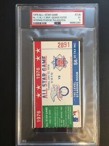 1976 MLB All Star Game Ticket Stub PSA 5 Philadelphia Bi-Centennial