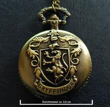 Harry Potter: Kette mit Gryffindor Medaillon und Uhr