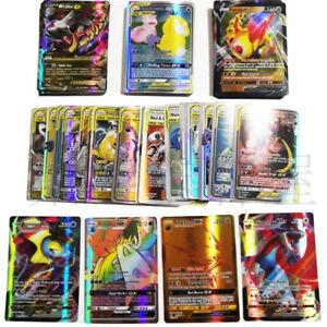 Pokemon Cards Bundle TCG Booster Box English Edition 20GX+20mega+59EX+1 Energy