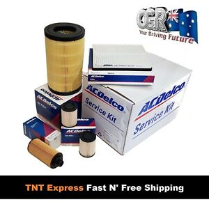 Service Kit RG Holden Colorado 2.5 2.8 Diesel ACDelco Oil Air Fuel Cabin Filters