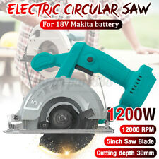 Portable Electric 12000W Circular Saw Cutting Blades Brushless For 18V Makita
