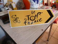 tour de France  no plaque emmaillée alu