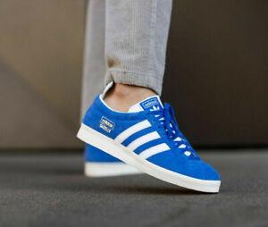 Adidas Originals Gazelle Vintage Blue Trainers Shoes