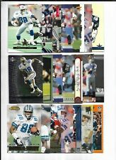 Michael Irvin 63x Card Lot 1989-2000 Topps-Upper Deck-Bowman's Best-Score-Skybox