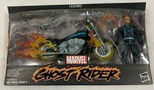 Marvel Legends Johnny Blaze GHOST RIDER & MOTORCYCLE bike Hasbro SEALED Riders