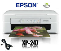 EPSON XP-247 MULTIFUNKTIONS DRUCKER SCANNER KOPIERER WIFI WLAN * NEU *