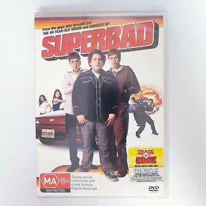 Superbad Movie DVD Region 4 AUS - Teen Comedy