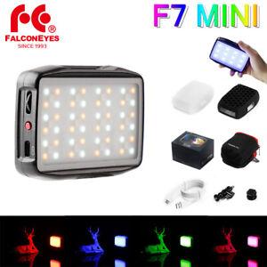 Falcon Eyes F7 Mini 5W Pocket RGB Led Light On Camera Studio video lighting Lamp