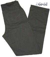 Pantalone uomo jeans cotone strech 46 48 50 52 54 56 58 60 62 SEA BARRIER verde
